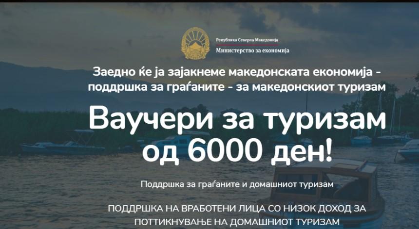Хотелиерите бараат од Владата двојно да го зголеми бројот на ваучери за туризам