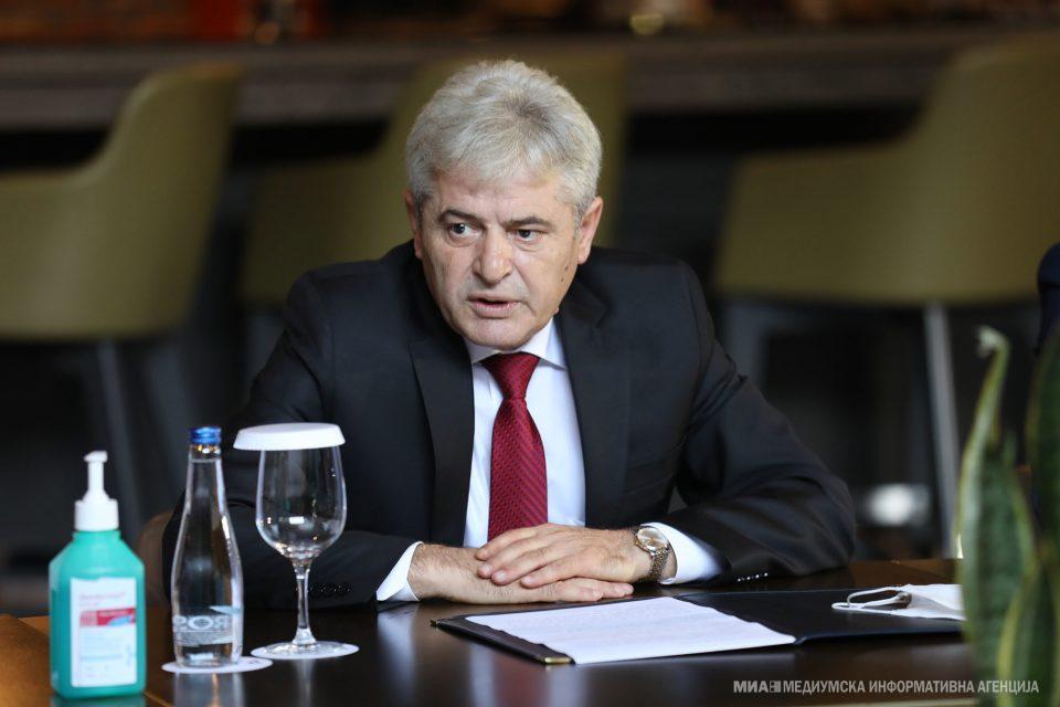 Средба Ахмети-Дедај: Во оваа гарнитура на владата, Албанците се факторизирани уште повеќе