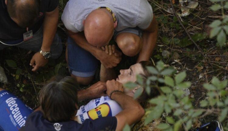 Велосипедист падна од мост, во тешка состојба префрлен во болница