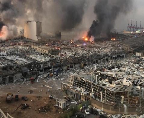 Се зголемува црниот биланс во Бејурт: Починати се 154 луѓе, а 120 се во критична состојба