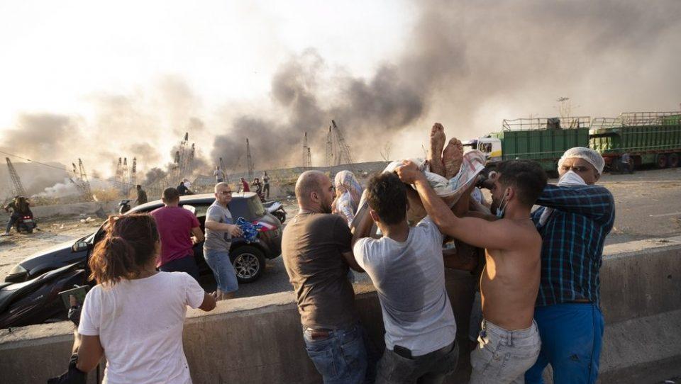 Либан не исклучува надворешна вмешаност во експлозијата во Бејрут со ракета или бомба