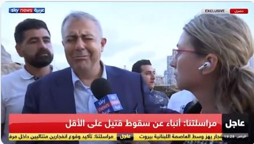 Гувернерот на Бејрут се расплака зборувајќи за експлозијата во која загинаа најмалку 30 лица, а 3.000 се повредени