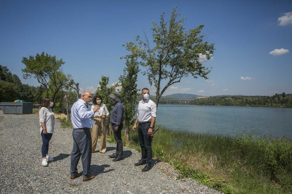 Царовска: Езерото Младост станува паметно езеро