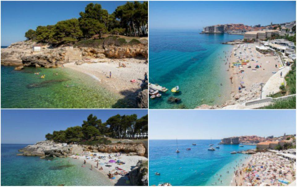 Хрватските плажи во време на корона и претходните години