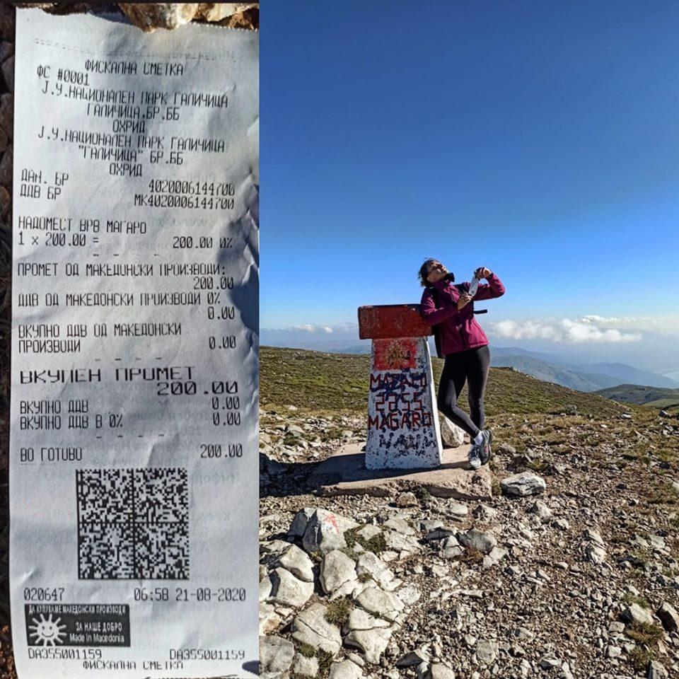 Планинари добиле сметка од 200 денари за да се искачат на Галичица
