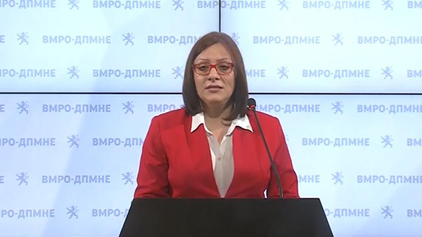 Димитриевска Кочовска прашува: Кои Струмички компании имале кредити без покритие во Еуростадард банка
