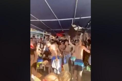 """Кластер """"Градиште"""": Потврдени 15 млади лица заболени од Ковид-19 кои биле на забавите на охридските плажи"""
