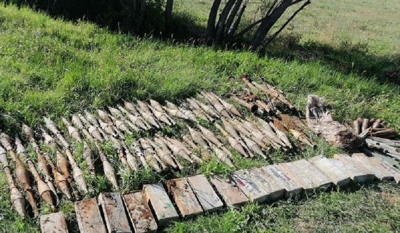 Голема акција на полицијата: Гранати и муниција се најдени во струшко