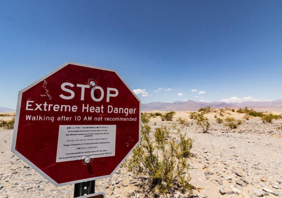 Во Долината на Смртта: Срушен температурниот рекорд од 1936