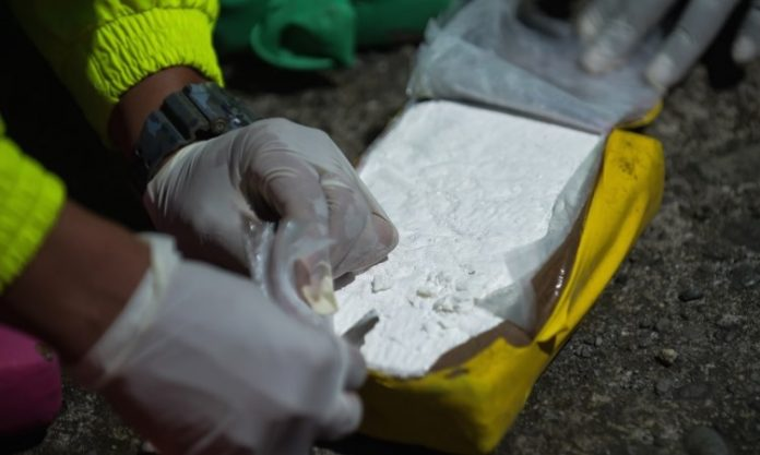 """Пренесувале кокаин во """"Ауди"""": Уапсени двајца велешани"""