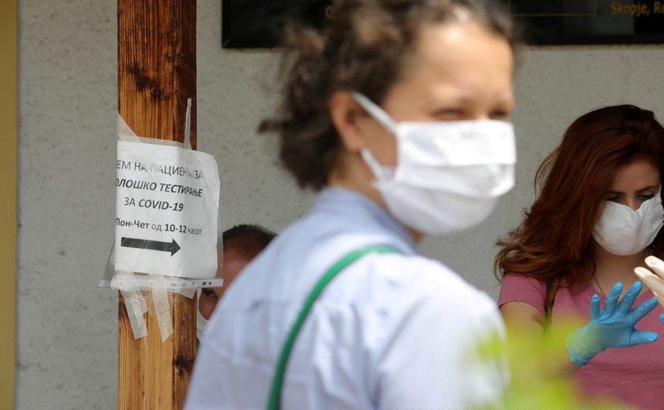 Бројот на новодијагностицирани во Македонија постојано е околу 10 отсто од тестираните