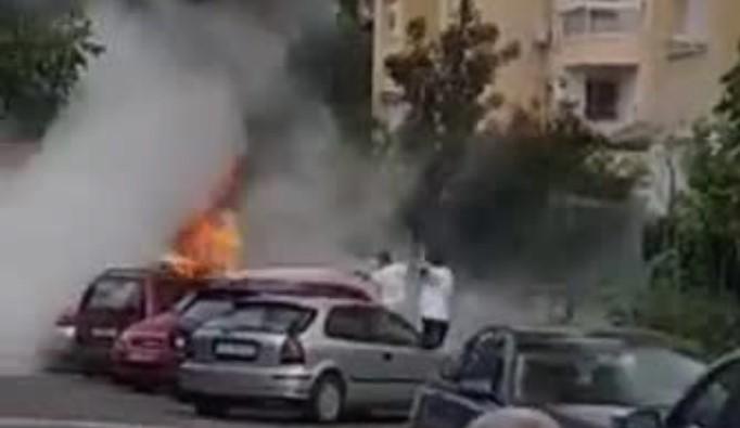 Таткото се обидел да го фати сторителот: Утринава запалени две возила на ист сопственик