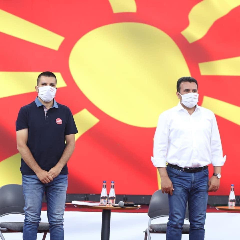 Се јави и Николовски: СДСМ и македонските граѓани избраа иднина и избраа да чекорат напред, а Црвенковски е историја