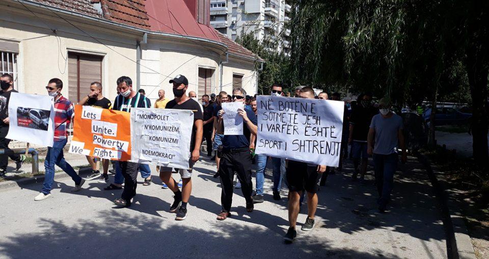 Да се намали цената на струјата, побараа кумановци на протестот