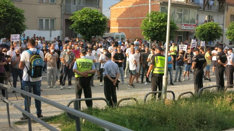Втор протест во Гостивар: Немаме ни за леб и вода, а не пак струја да платиме