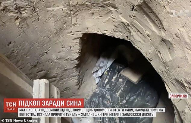 Додека ја фатиле ископала три тони земја – мајка копала тунел за синот во затвор