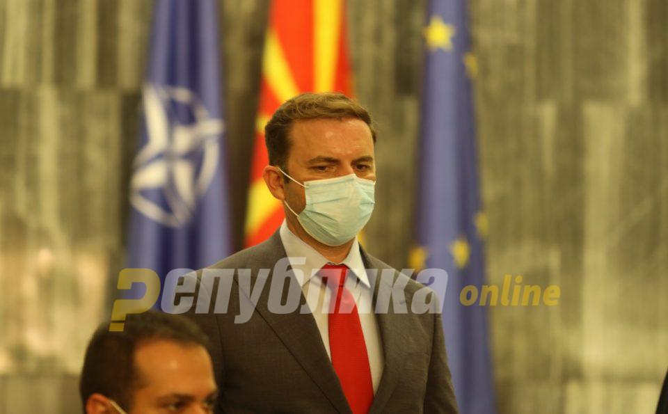 Османи: Продолжуваме со заложбите за промоција на безбедноста и стабилноста