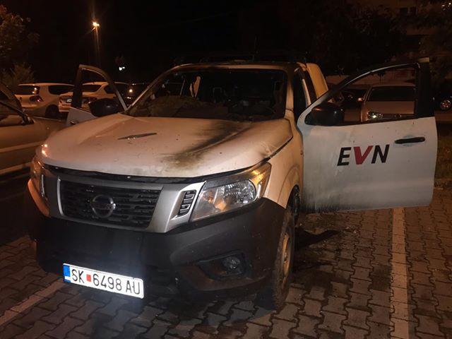 Уапсен мажот што ги запалил возилата на ЕВН ноќва