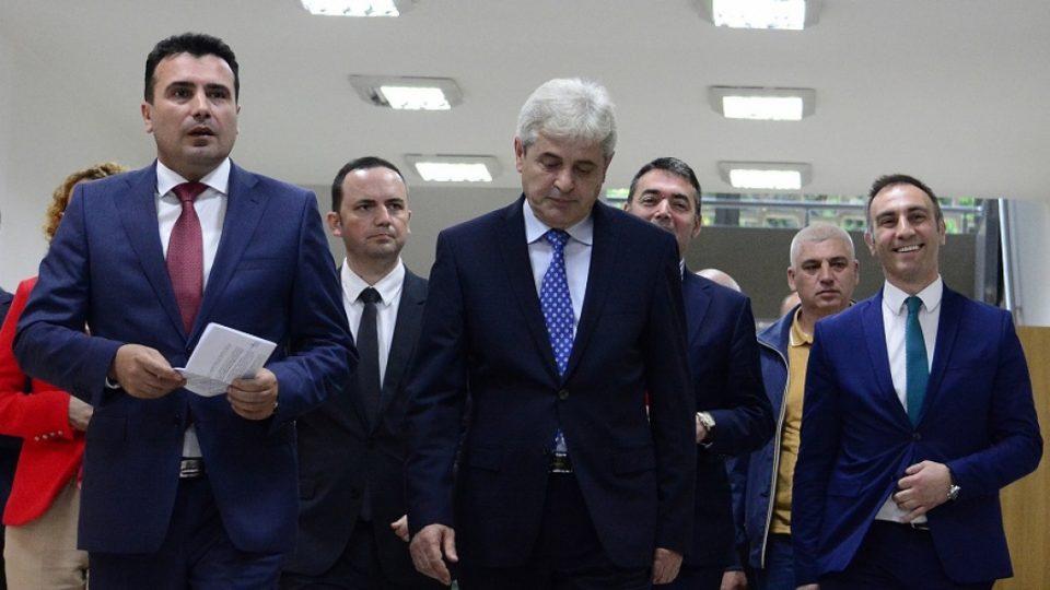 """Ахмети му простил на Заев за """"Албанците не вредат пет пари"""": Не сакаме да го дискредитираме неговиот лик"""