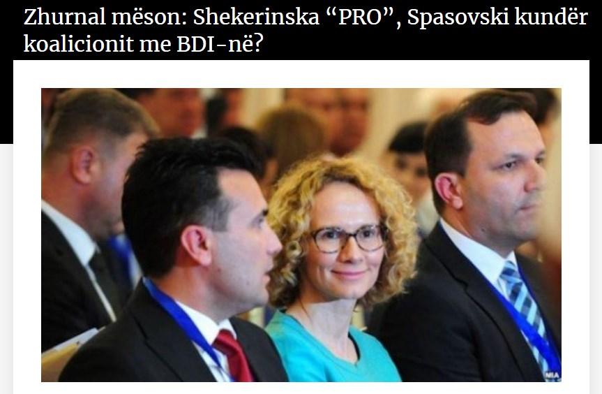 """Поделба во СДСМ за коалициите, Шекеринска """"за"""", Спасовски """"против"""" коалицијата со ДУИ?"""