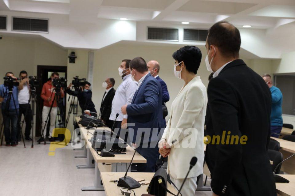 """Година и пол затвор за Груевски, условна казна за Јанакиески во случајот """"Насилство во Центар"""""""