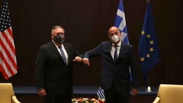 Помпео во Солун на разговори за тензиите во источен Медитеран