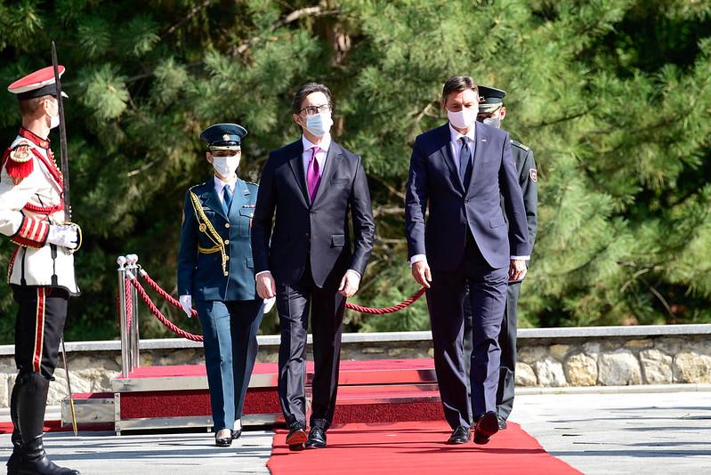 Словенечкиот претседател денеска во Охрид