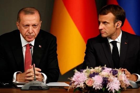 """Макрон: ЕУ треба да биде """"цврста и силна"""" со Турција на Ердоган"""