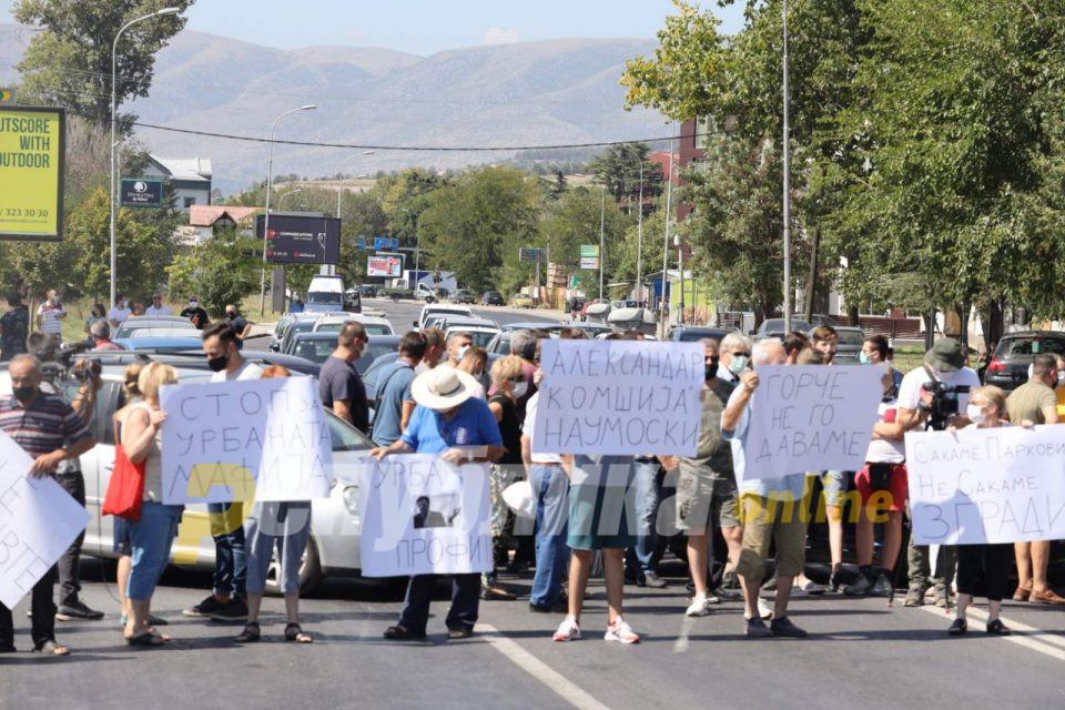 Иницијаторите кои се противат на изградба на висококатници во Ѓорче Петров денеска ќе излезат со прес конференција