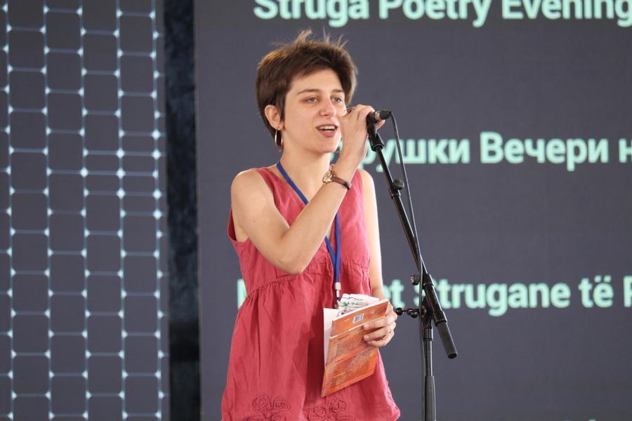"""Ива Дамјановски е добитник на наградата """"Браќа Миладиновци"""" на Струшките вечери на поезијата"""