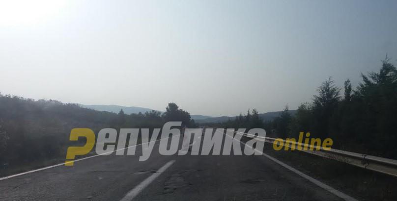 Внимателно на патниот правец Катланово-Велес