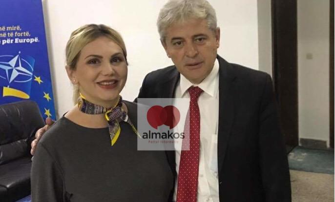 Елита Маша, една од најмноќните жени во ДУИ предупредува на протести против партијата на Али Ахмети