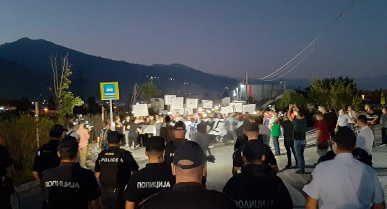 Шести протест против поскапување на струјата во Тетово