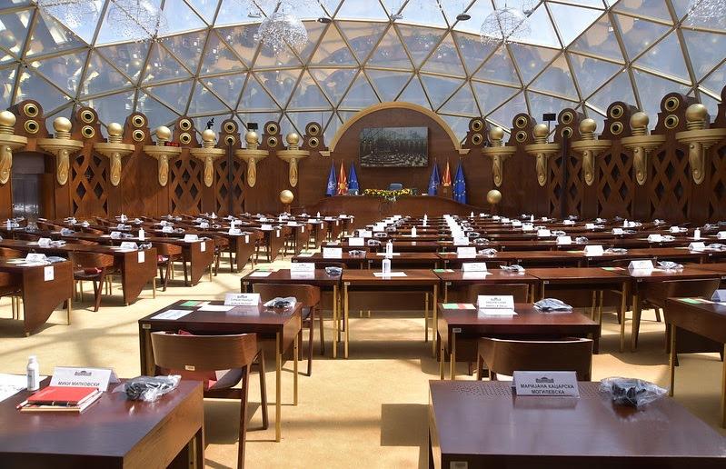 Стојаноска: Никој не може да ме убеди дека дебата во живо во Собрание може да се замени со онлајн