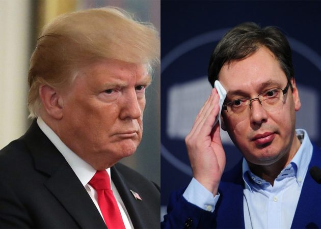 Притисокот е се посилен: Трамп се вклучува во преговорите меѓу Србија и Приштина