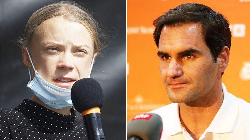 Протест против Федерер: Одново вовлечен во дебата за климатските промени