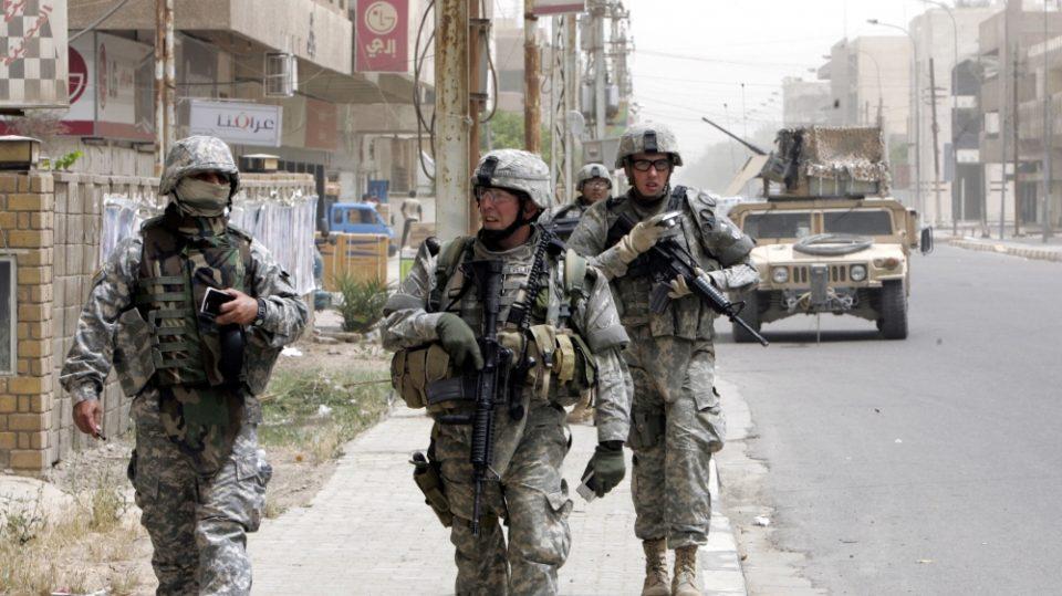 САД повлекуваат 2.200 војници од Ирак