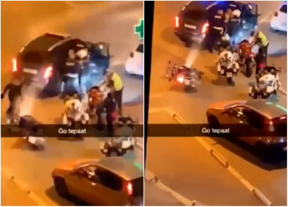 Втор случај на полициска бруталност за 24 часа: Полицајци влечат и тепаат човек