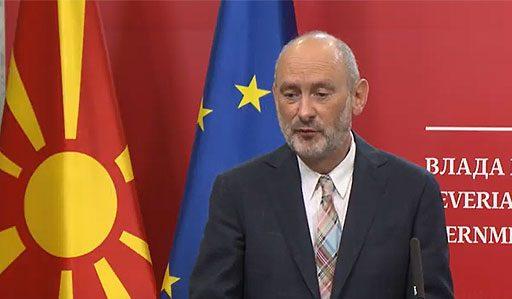 Новиот евроамбасадор Гир не одговори дали само Бугарија има проблем за преговорите на Македонија со ЕУ