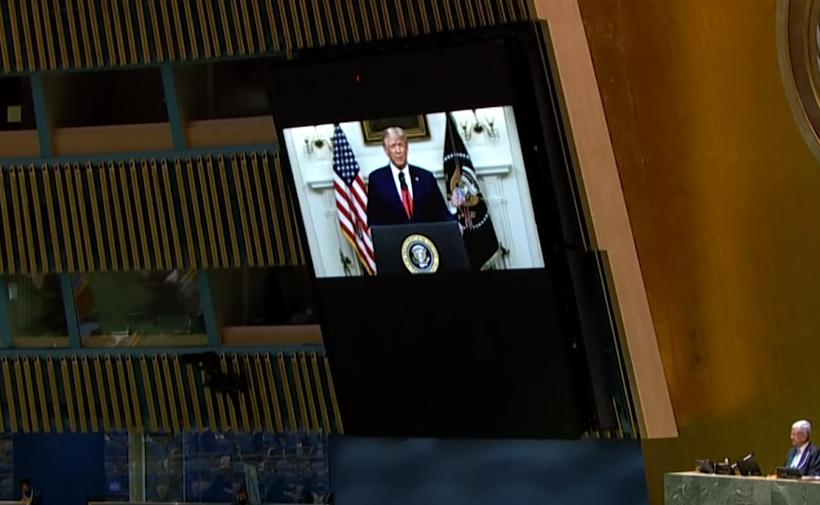 Трамп пред ОН: Кина мора да одговара за своите постапки околу пандемијата на Ковид-19