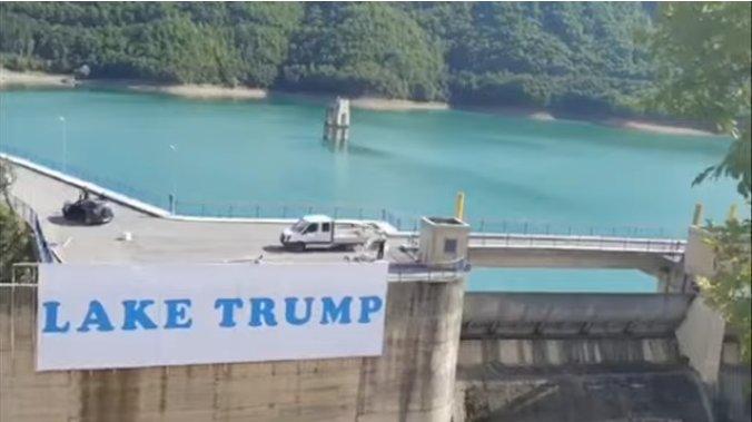 Косовските Срби благодарни на Трамп: Преименуваа езеро во негова чест
