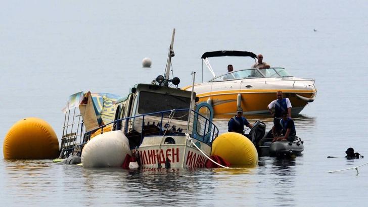 """Единаесет години од потонувањето на """"Илинден"""" во кој загинаа 15 туристи од Бугарија"""