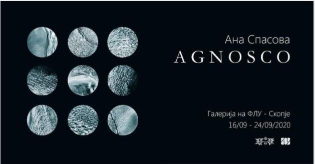 """Вечерва во ФЛУ: """"Agnosco"""", изложба на Ана Спасова-ликовен уметник и академски графичар"""