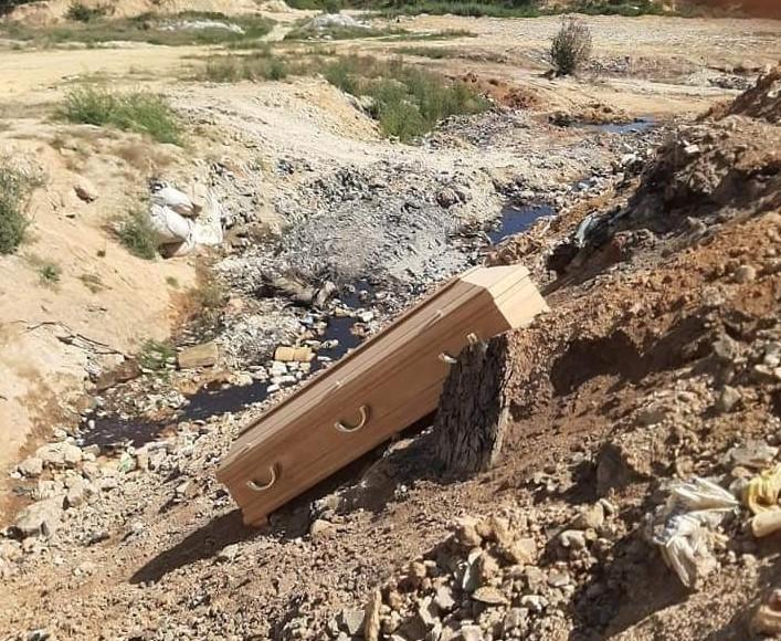 Ковчезите биле најдени на новите гробишта, полицијата испитува кој ги оставил