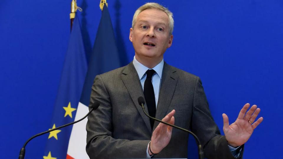 Министерот за финансии на Франција позитивен на Ковид-19