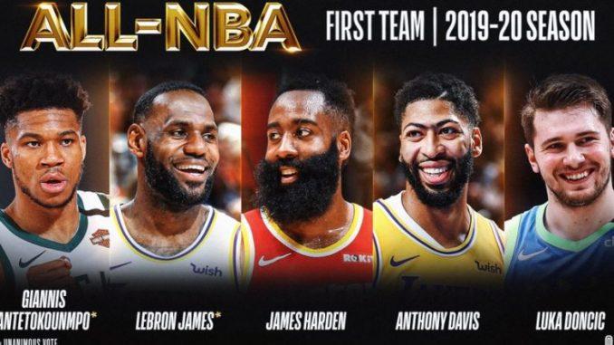 Лука Дончиќ избран во најдобрата петорка во НБА