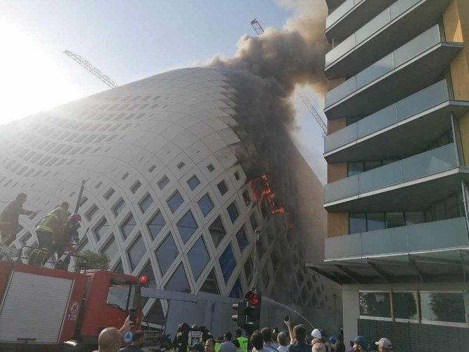 Нов пожар во близина на пристаништето во Бејрут