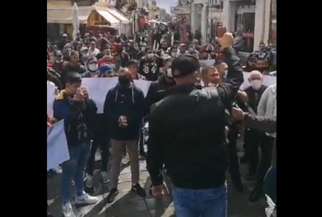 Ромите излегоа на протест против полициската бруталност во Битола