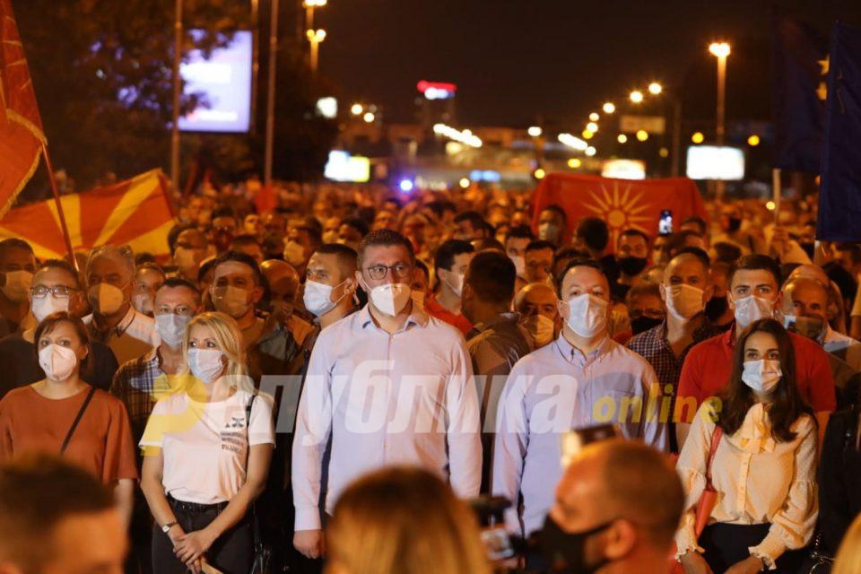Мицкоски: Бараме независен јавен обвинител на предлог на опозицијата