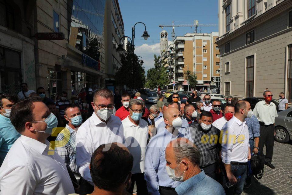 Муцунски: Со протестите кои ги организира ВМРО-ДПМНЕ треба да се создаде свест кај власта дека некои работи не одат во соодветна насока